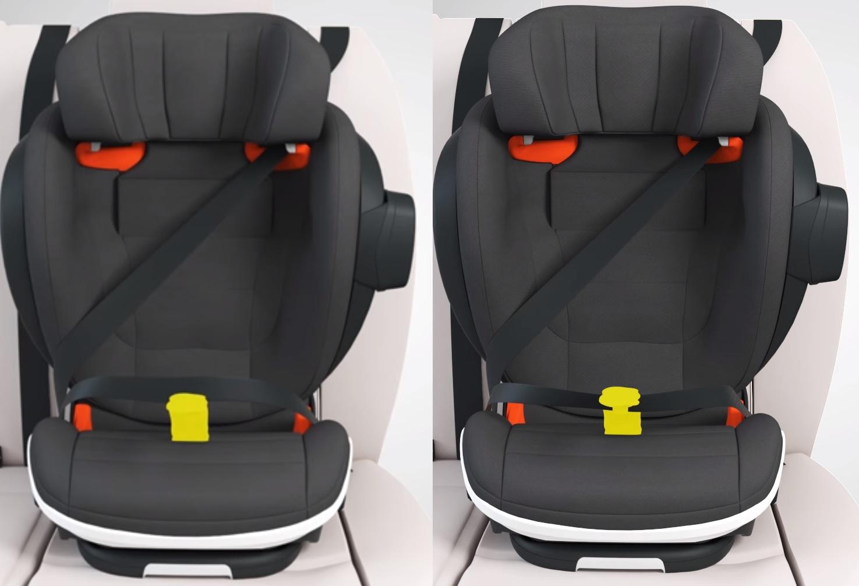 cd90c7dbba4499c069fc64be0aa655a2 - BeSafe iZi Flex FIX i-Size fotelik samochodowy 15-36 kolor Fresh Cloud Melange